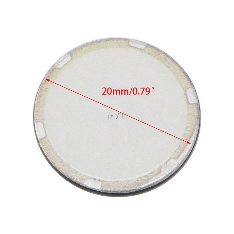5 uds 16/20mm nebulizador ultrasónico cerámica disco hoja atomizador humidificador Accesorios