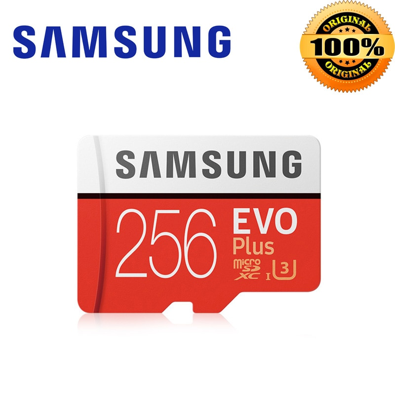 Nuevo Producto Original SAMSUNG tarjeta Microsd 64G 128GB 256GB 32GB 100 MB/S Class10 U3 U1 tarjeta Micro SD tarjeta de memoria TF tarjeta Flash
