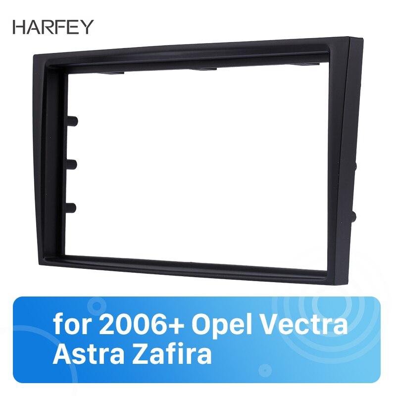Harfey 173*98mm Radio de coche para panel de salpicadero estéreo Indash CD de Audio Cover reparación Kit para 2006 + Opel Vectra Astra Zafira