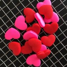 Amortisseurs de vibrations pour raquette de Tennis, 1 pièce, couleur rouge et rose aléatoire