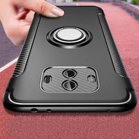 Чехол с магнитным кольцом-держателем для Huawei Mate 20 20X 10 Pro P20 P30 P10 Lite Nova 3 3i 4 Honor 9, бронированный чехол, металлический чехол с кронштейном