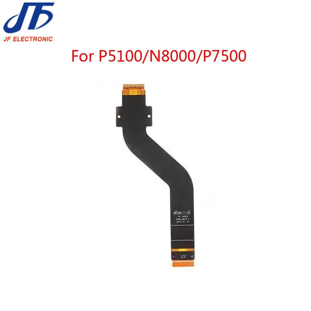 10 unids/lote pantalla LCD pantalla táctil pruebas extendido cable FLEX para Samsung Galaxy Nota 10,1 N8000 p7500 Tab 2 10,1 P5100 P5110