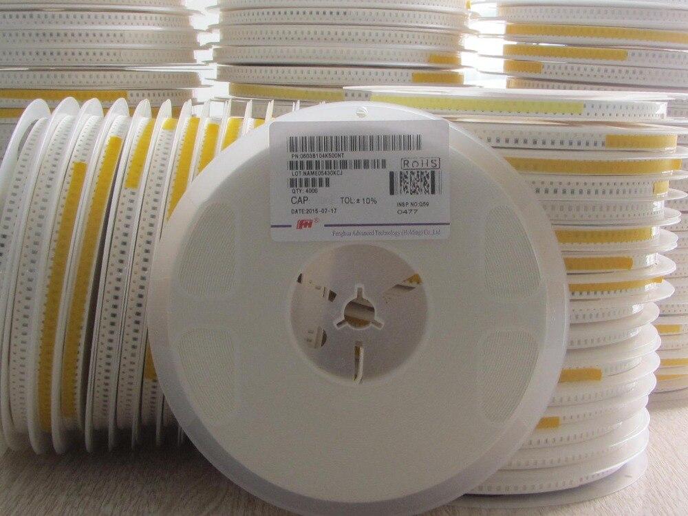 200 Uds. Condensador cerámico de alta tensión 100V 680PF 0805 680P 100V smd condensador 0805 680PF 10%