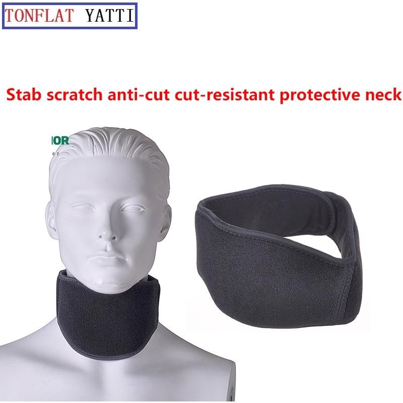 Anti-stab Protective Gear/Protective Neck Stab Polymer Material FBI Supplies Self-defense Anti Cut Anti-hack Full Se Anti Tool