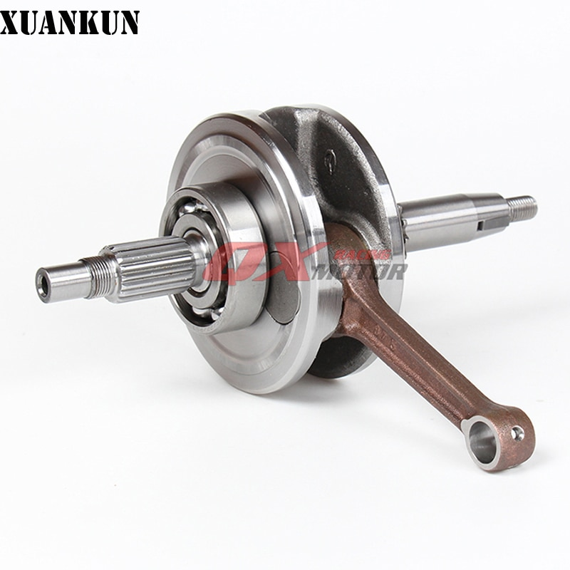 Горизонтальный двигатель XUANKUN YX 150-5 YX150 YX160, горизонтальный коленчатый вал двигателя