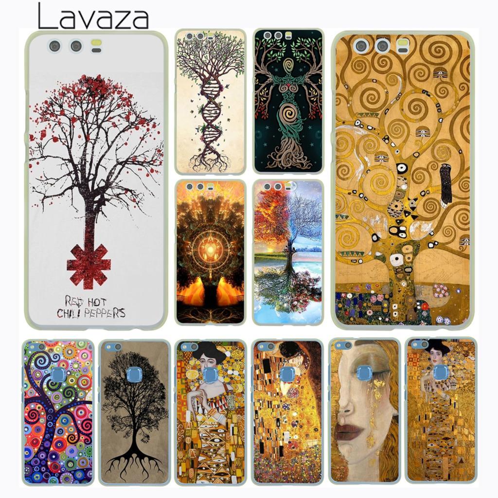 Чехол-книжка Gustav Klimt Tree of Life «Золотые слезы» для Huawei P30 P20 P10 P9 Plus P8 Lite Mini 2017 P smart Z 2019