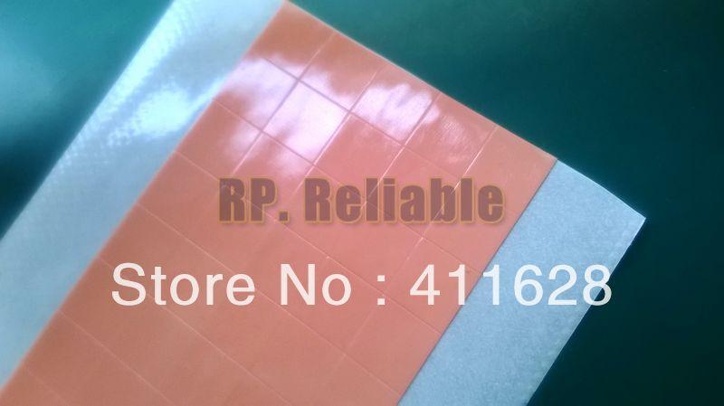 Adhesivo térmico conductivo de doble cara 50x10x10x0,25mm, pegamento adhesivo para luz LED, Chip, Transistor, PCB con Heatskink