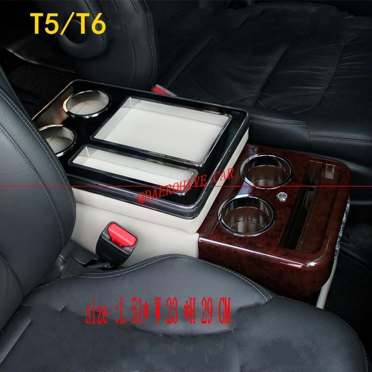 QDAEROHIVE-صندوق درابزين أمامي ، مسند ذراع ، مسند ذراع ، أعمال ، تخزين مركزي ، شحن سيارة ، هاتف محمول ، لـ Caravelle Multivan T5 T6!
