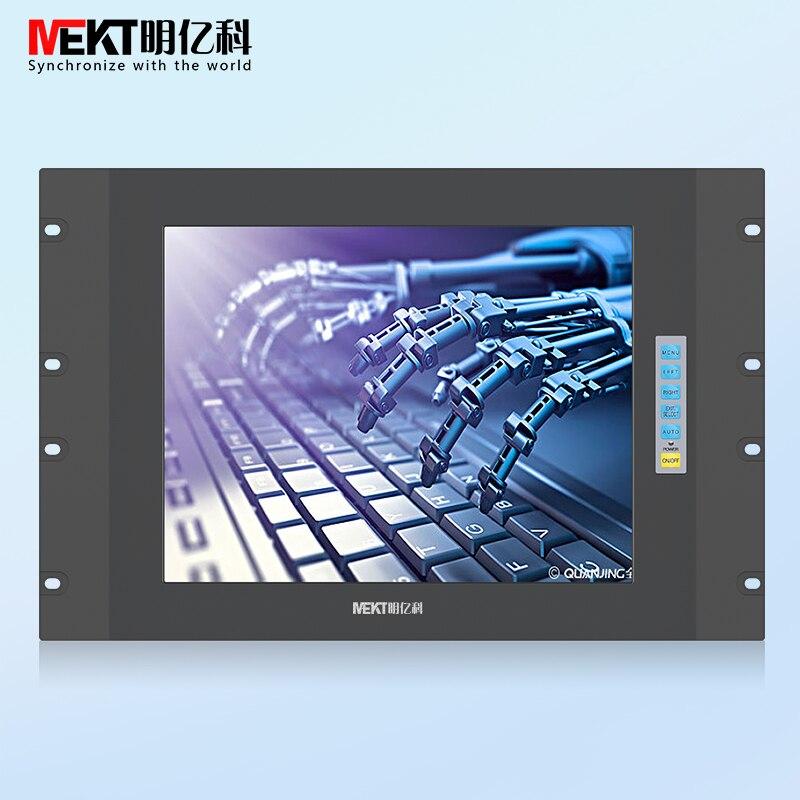 Monitor de pantalla LCD 9-36V 24 V/12,1/19/17/15 pulgadas VGA monitor de computadora estándar gabinete/OEM/ODM