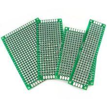 4 шт. двухсторонний прототип печатной платы Луженая макет 5x7 4x6 3x7 2x8 см каждый 1 шт FR4