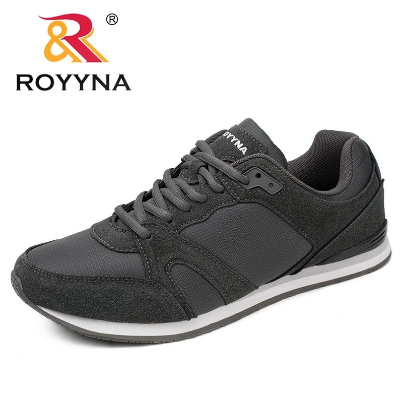 ROYYNA-حذاء كاجوال برباط مسامي للرجال ، حذاء مريح للربيع والخريف ، توصيل سريع