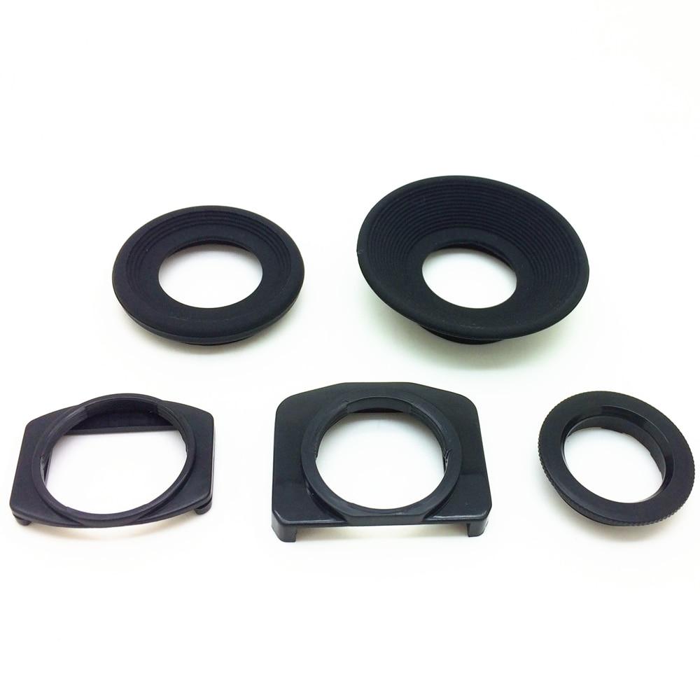 Kit de borracha macia visor eyecup substituir eb ec eg ef DK-17 DK-19 DK-20 DK-21 DK-23 DK-24 DK-25 ocular para canon nikon câmera