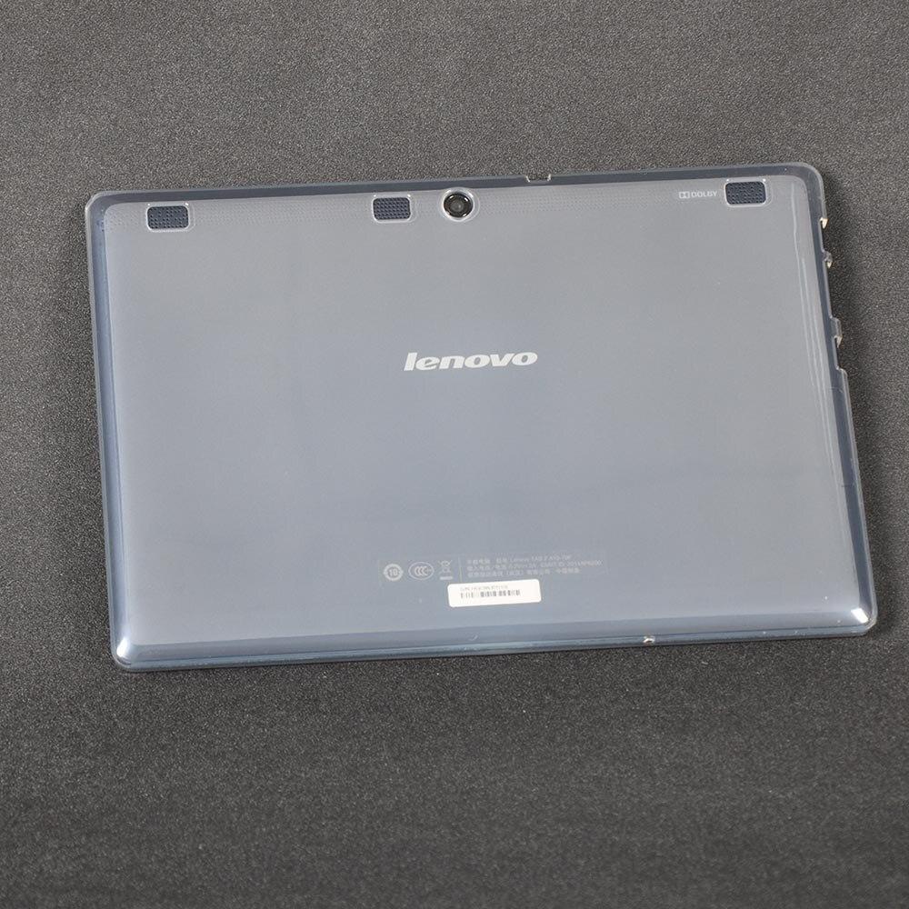 Para TAB 2 Lenovo A10-70 Caso Capa TPU Macio para Lenovo A10-70 TAB2 A10-70F A10-70L A10 70 10.1 polegadas Tablet Case + Stylus caneta