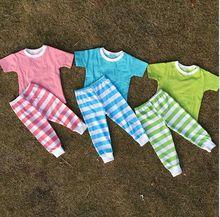 Neue kommende kurzarm pyjamas kinder xxx foto china fabrik billig kinder baby pyjamas großhandel