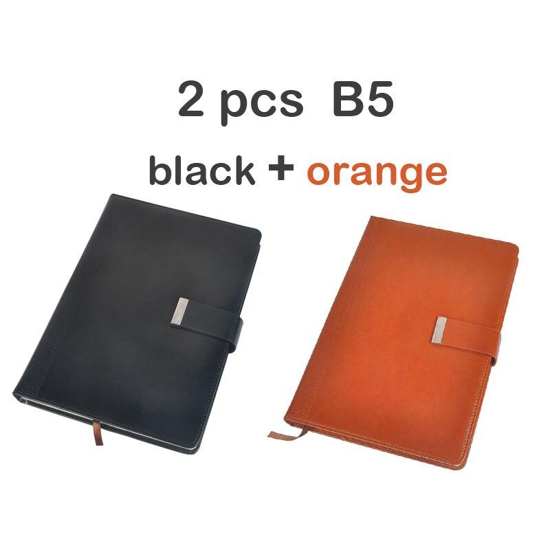 Dilosbu B5, suministros escolares, cuaderno de viaje de negocios magnético, cuaderno de composición, cubierta de cuero, diario de viaje, planificador de oficina