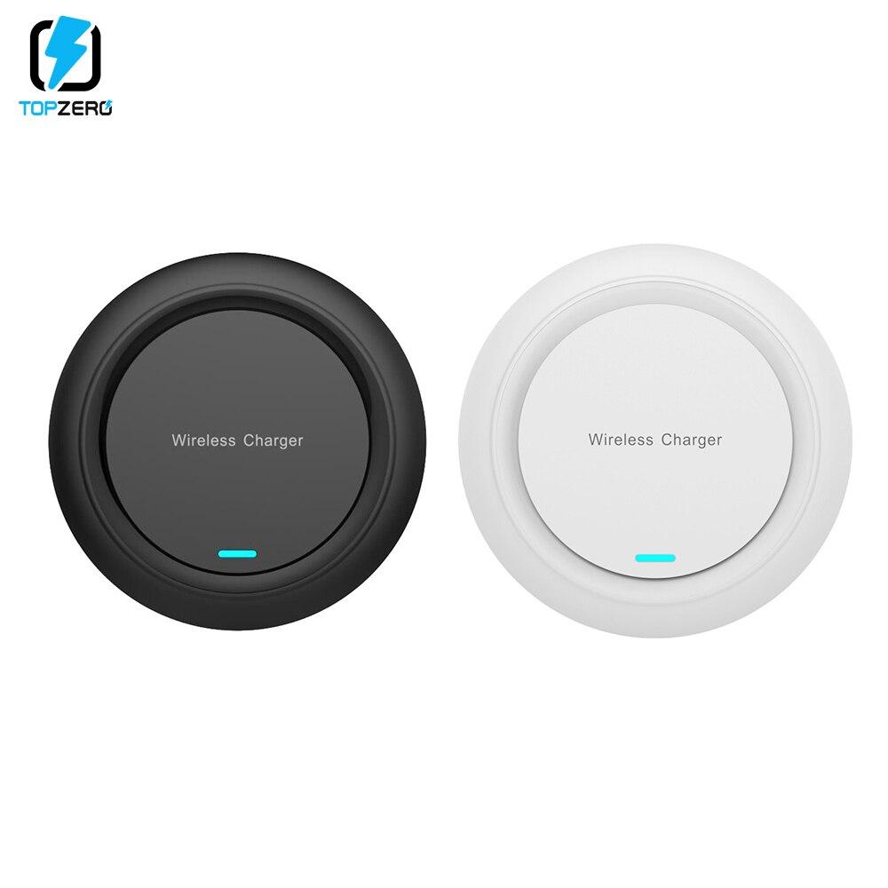10W Qi cargador inalámbrico para iPhone X XS X XR XS MAX 11 PRO MAX carga inalámbrica rápida Pad para Samsung Galaxy S8 S9 Nota 10 Plus