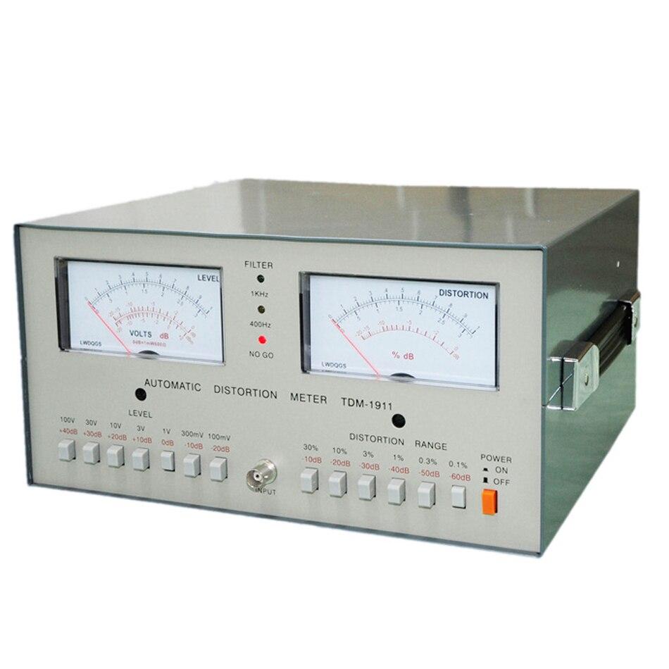 Professional Tester TDM-1911 Distortion Tester/ Meter 100mV~100V Scope: 0.01% - 30% TDM1911