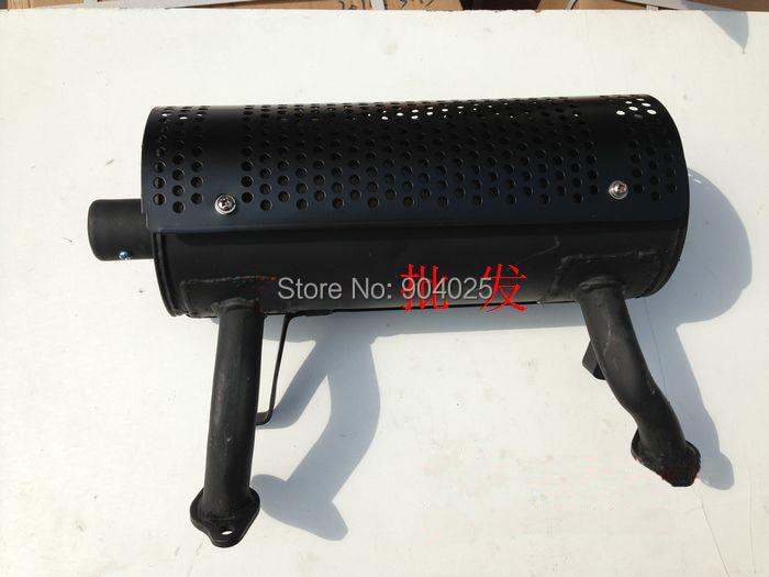 Piezas de motor de gasolina GX620 GX690 2V77 2V78 silenciador tubo de escape