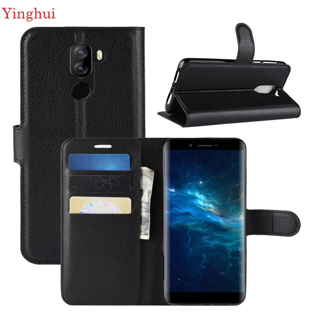 Для DOOGEE X60L Чехол кожаный флип-чехол для телефона чехол для DOOGEE X60L высококачественный кошелек кожаный чехол-подставка чехлы-флип чехол s