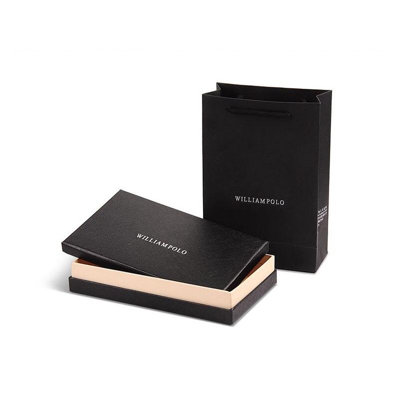 Купить с кэшбэком WILLIAMPOLO New fashion  wallet purse handbags for male luxury brand  zipper men clutches pl119