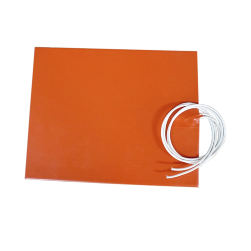 Alfombrilla térmica de 400*300MM para impresora 3D calentador Flexible de goma de silicona 220v 800W adhesivo NTC 100k termistor de 2000mm de plomo