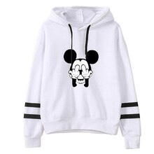 Mickey Print Cartoon Hooded Female Long Sleeve Sweatshirts 2019 Spring Fashion Harajuku Women Hoodies Funny Tops Tumblr