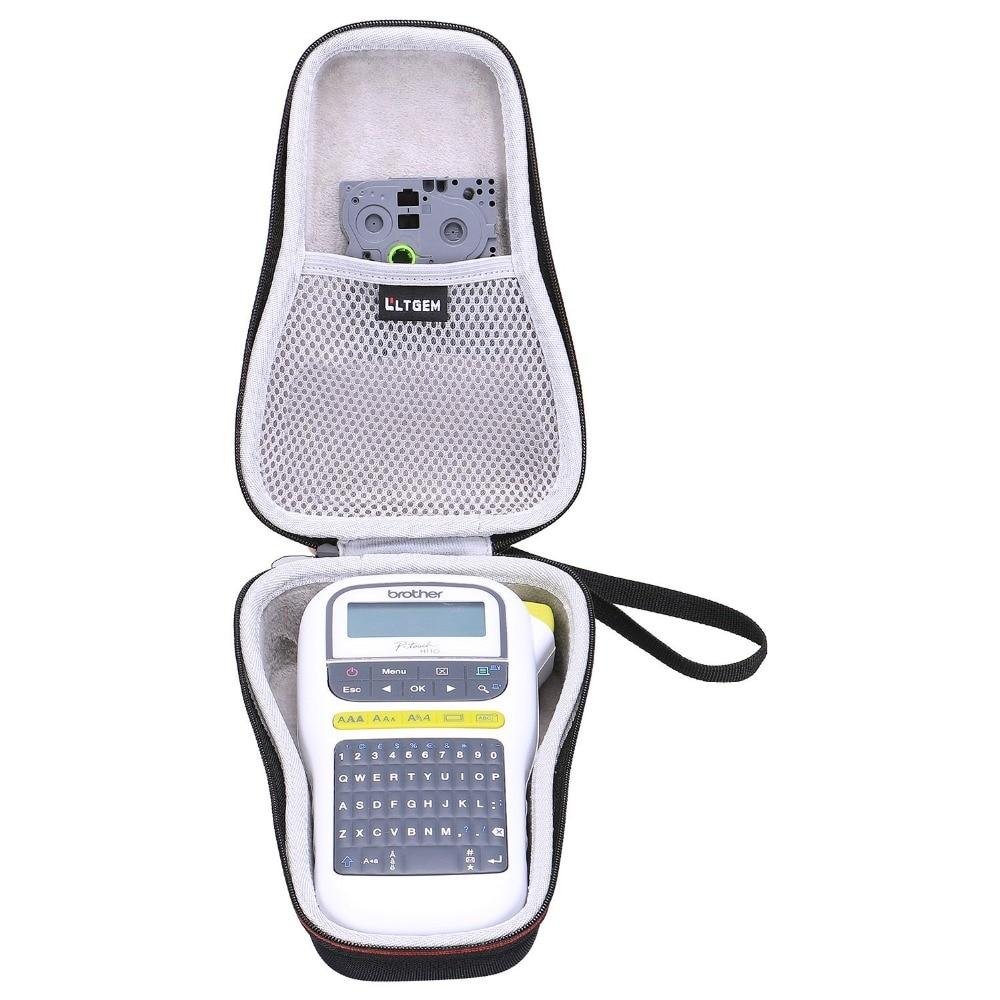 LTGEM EVA Hard Case for Brother P-Touch PTH110 & PT-H100 Easy Portable Label Maker - Travel Protecti
