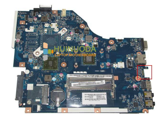 NOKOTION P5WE6 LA-7092P для ACER Aspire 5253 материнская плата для ноутбука MBNCV02002 материнская плата CPU 100% Полная проверка