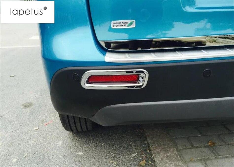 Lapetus, accesorios para Suzuki Vitara Escudo 2015 - 2019 ABS cromado, faros delanteros, faros antiniebla, Protector para lámpara, moldura, Kit de cubierta Trim