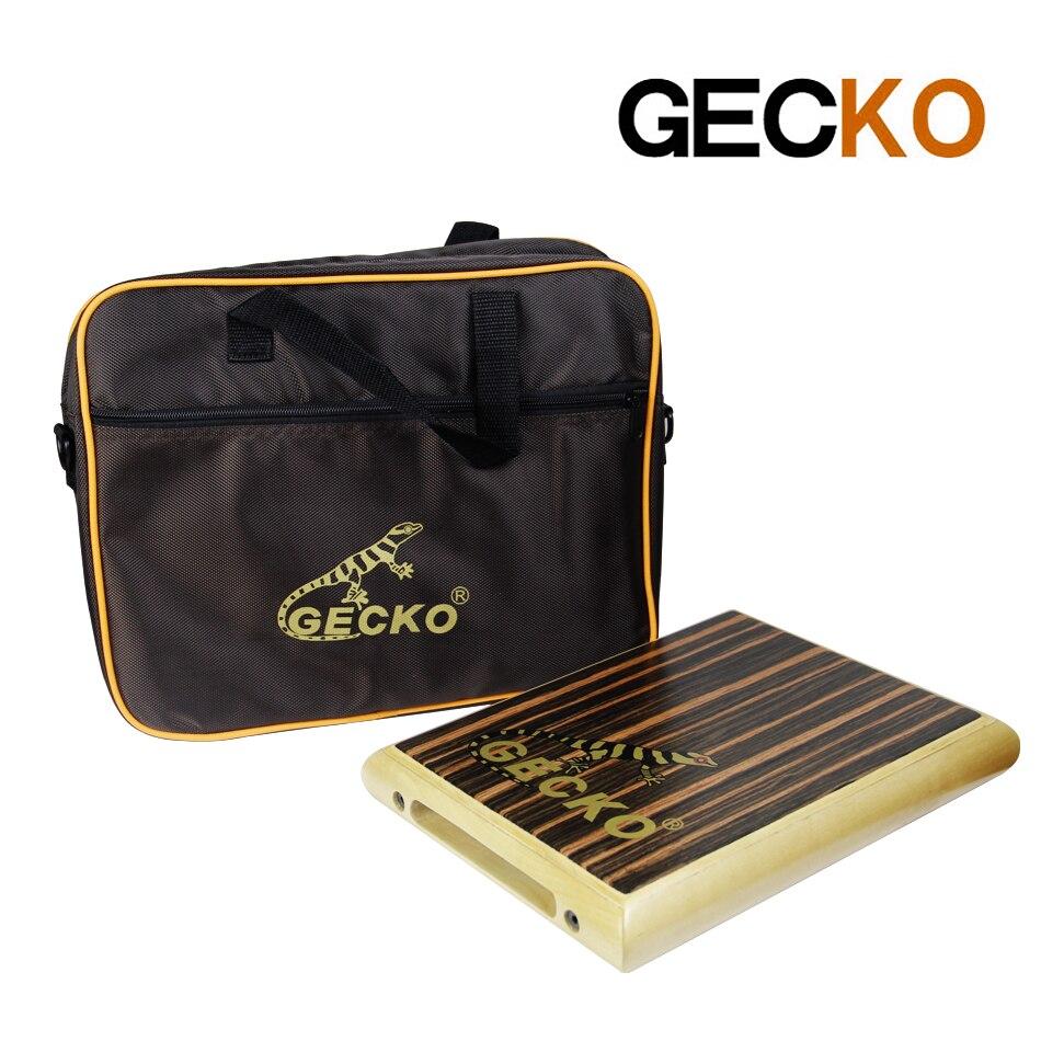 GECKO PAD-1 percusión manual cajón caja tambor con bolsa de tambor