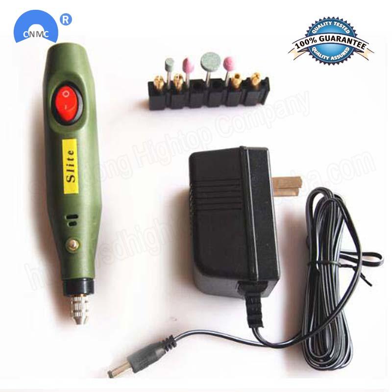 220V Mini Wireless Grinding Machine Engraving Pen Variable Speed Rotary Tools Kit Drill Engraver Pen for Milling Polishing 10W