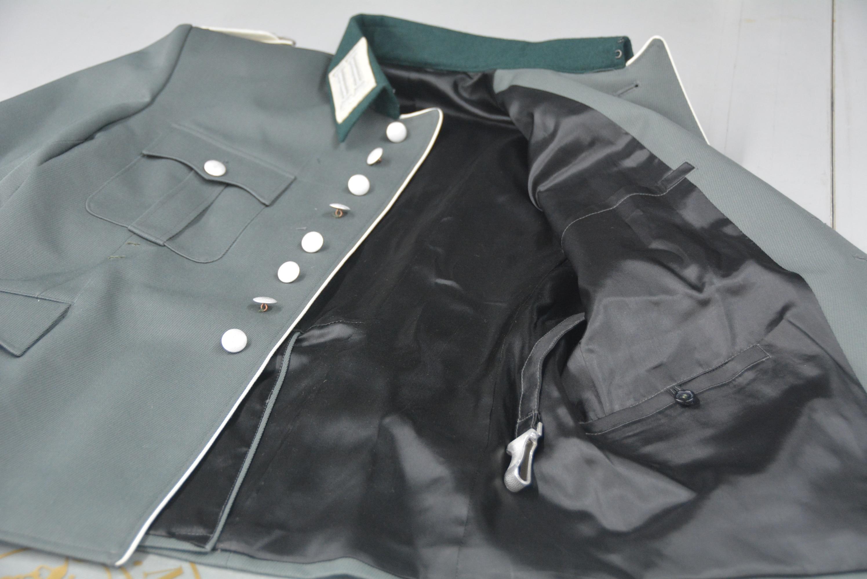 EMD/Lnfantry vestido/oficial/sarga lana/chaqueta