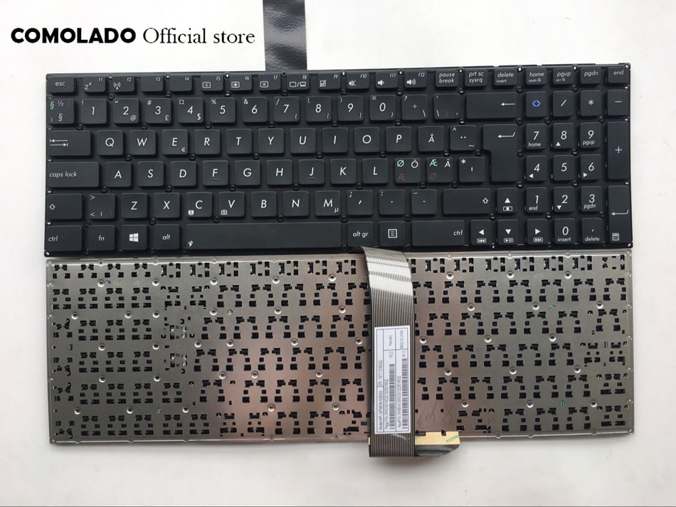 Y nórdicos teclado para ASUS K56 A56C S550CM S56C K56C S550C K56CM K56CB teclado y diseño
