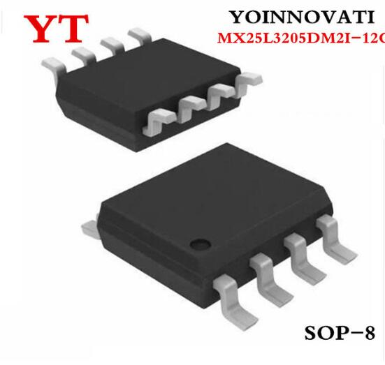 30 pçs/lote MX25L3205DM2I-12G SOP8 MX25L3205D 25L3205 Melhor qualidade