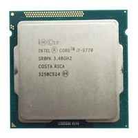 intel core i7 3770 quad core cpu lga 1155 socket 3 4ghz use h61 h67 z77 z68 h77 motherboard 77w tdp 3770 processor
