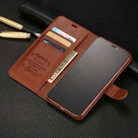 Роскошный кожаный флип-чехол для iphone 12 mini 11 Pro x xr xs max 6 6s 7 p 8 plus 5 s se 2020, защитный чехол для телефона