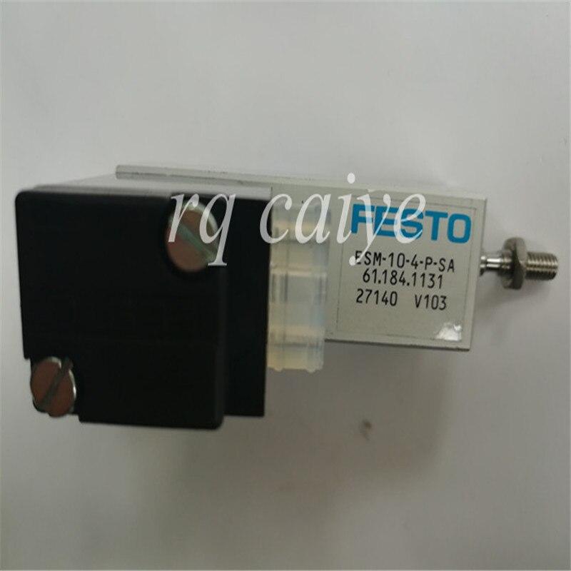 3 шт. 24В DC цилиндр SM74 PM52 SM52 машина электромагнитный цилиндр 61.184.1131 ESM-10-4-P-SA