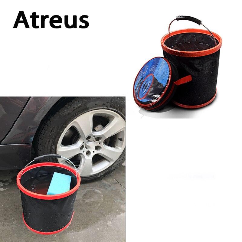 Atreus Car styling, suministros de lavado, Cubo de almacenamiento, maletero, equipaje para BMW e46 e39 e36 Audi a4 b6 a3 a6 c5 protector antipolvo para Renault Lada granta