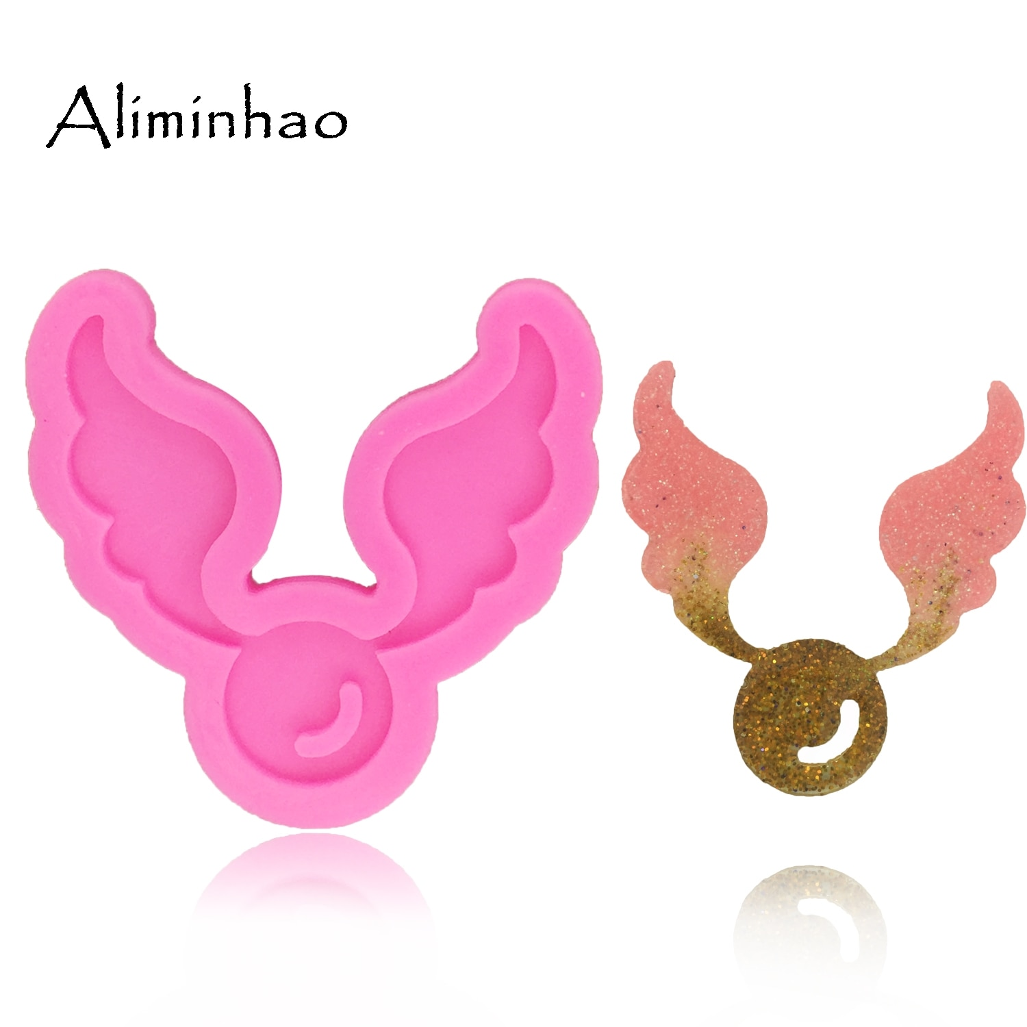 AliExpress - DY0068 Angel wings shape fondant cake decoration dessert tools Sugarcraft silicone mold for cake clay DIY chocolate Resin mold