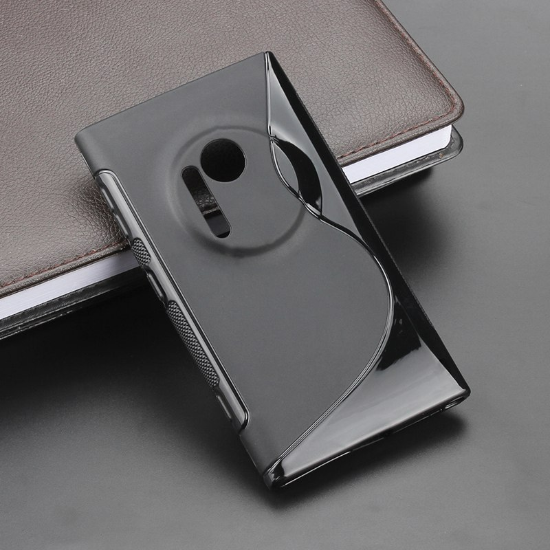 Funda trasera delgada de silicona para Nokia, funda de Gel suave Flexible...