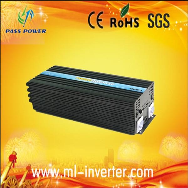 CE & SGS & ROHS fuera de la red Dc48v a Ac110v 5kw inversor Solar de onda sinusoidal pura