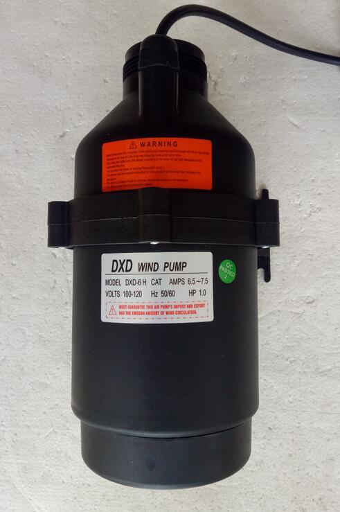 DXD-6 H الرياح مضخة أمبير 6.5-7.5 فولت 100-120V 1HP الهواء منفاخ بالنسبة لنا كندا حمام