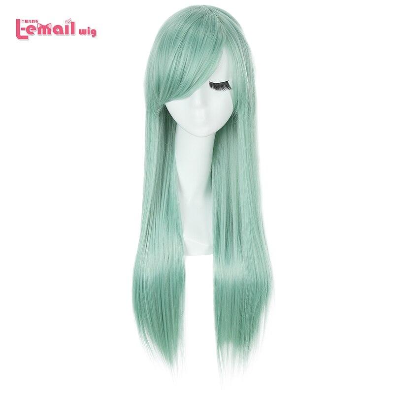 Парик L-email для косплея, лидер продаж, Женские синтетические волосы на длинной 80 см
