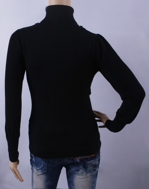 100%Cashmere Sweater Women Elegant Black Pullover Lady Sweaters Natural Thick Warm High Quality Clearance Sale Free Shipping enlarge