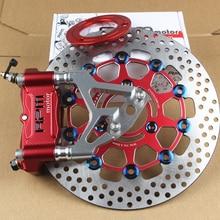 Accessoires universels de moto électriques modifiés   30 core avant, amortisseur RPM, petit étrier à rayonnement, jeu de freins, disque de frein