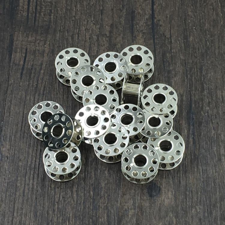 10 шт промышленные железные Катушки для швейных машин Singer Brother, старинная швейная машина Bobbin