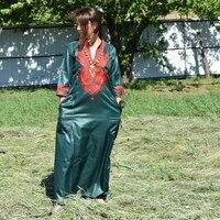 hd 2021 summer robes africaines women dashiki bazin fashion ladies clothing long sleeve robe embroidery plus size maxi dress