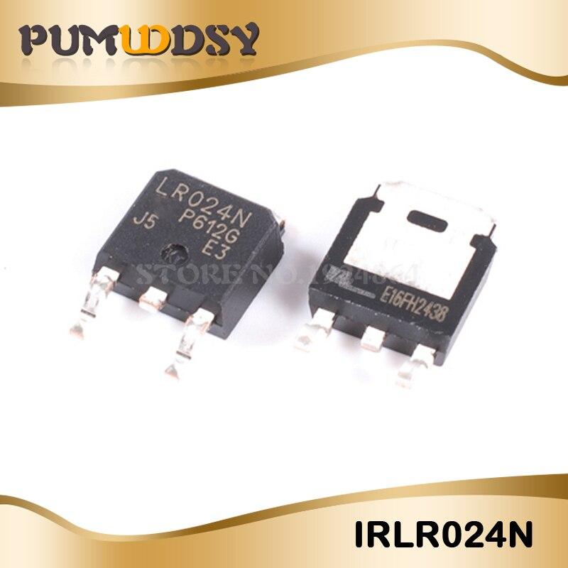 10pcs/lot IRLR024NTRPBF TO252 IRLR024N TO-252 LR024N new original free shipping IC