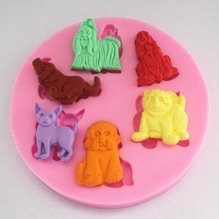 Nuevo conjunto de moldes para tartas fondant molde de jabón de chocolate para hornear en la cocina FM098