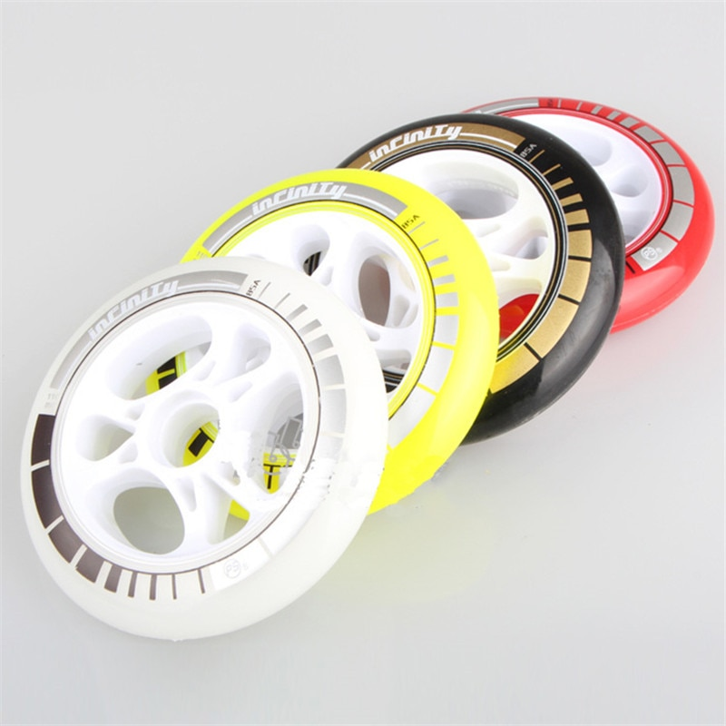 PowerSlide PS Infinity  Speed Skating wheels 8 Pcs/lot High Response  Roller Skates Speeding Racing Wheel 90mm 100mm 110mm